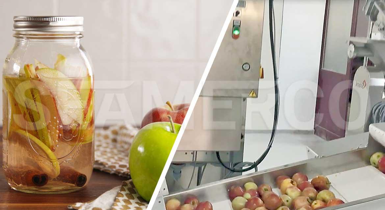 خط تولید کمپوت سیب