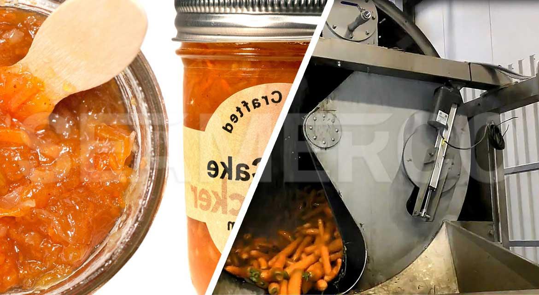 خط تولید مربای هویج