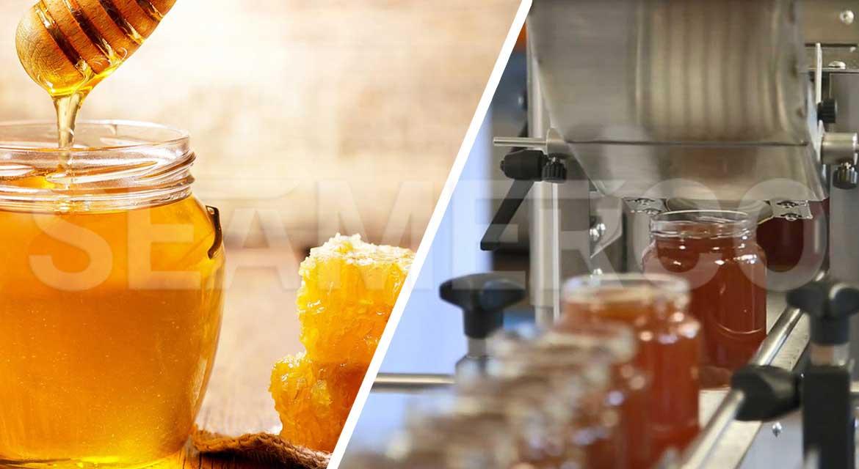 خط بستهبندی عسل