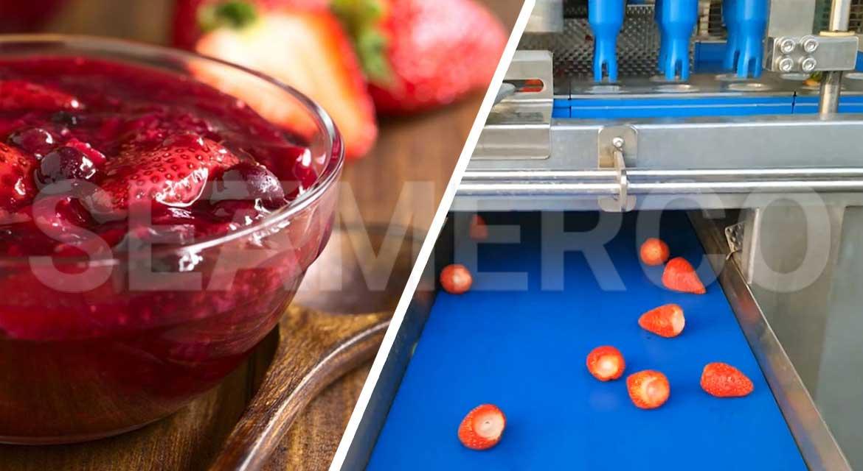خط تولید مربای توتفرنگی