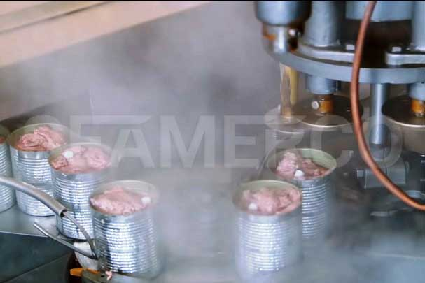 خط تولید کنسرو کله پاچه سیمرکو