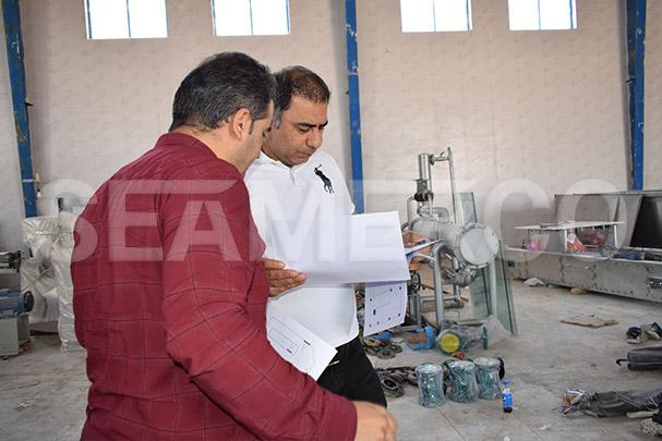 پروژه خط تولید رب تهران
