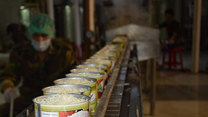 خط تولید کنسرو غیرگوشتی - افغانستان