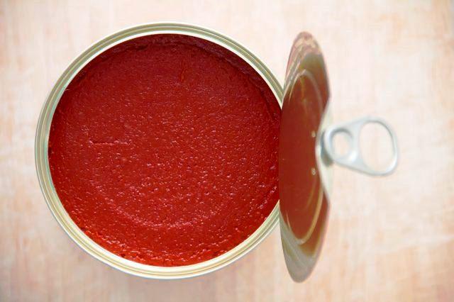 مفهوم پُری کنسرو رب گوجه فرنگی
