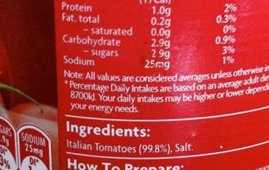 ترکیبات رب گوجه صنعتی