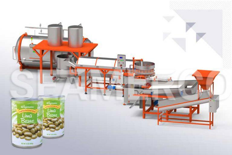 خط تولید کنسرو حبوبات سیمرکو